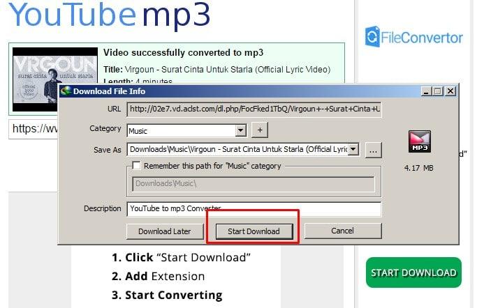 Update Cara Download Mp3 Dari Youtube Di Android Tanpa Aplikasi Techin Id