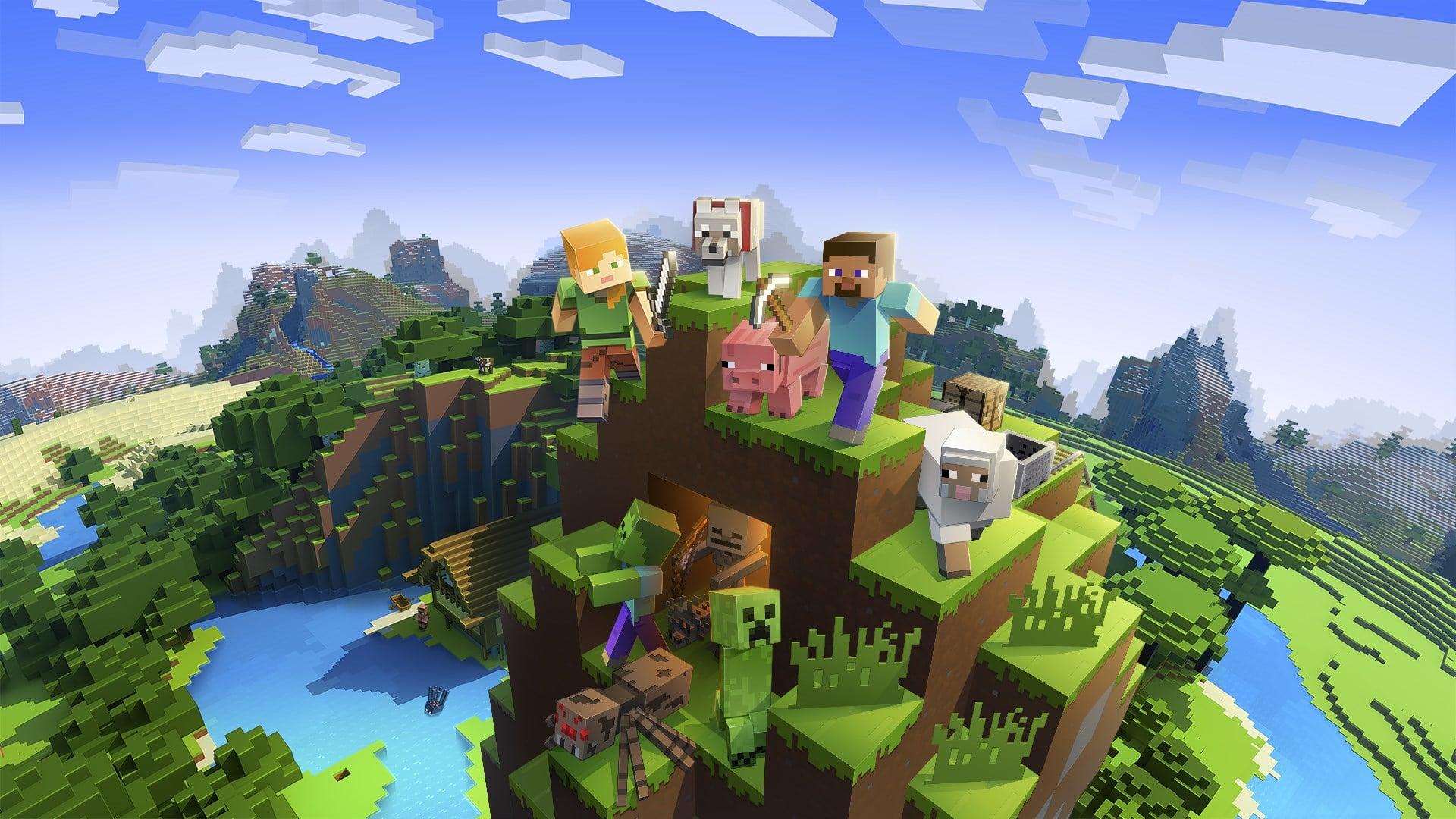 Download Minecraft Pocket Edition 1 16 0 57 Apk Mod Premium Unlocked Techin Id